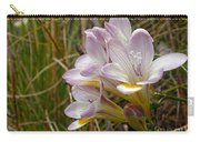 Mauve Freesia In The Wild Carry-all Pouch