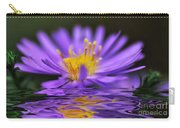 Mauve Softness And Reflections Carry-all Pouch