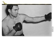 Max Schmeling 1938 Carry-all Pouch by Mountain Dreams