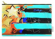 Max Stars And Stripes In Inverted Colors Carry-all Pouch
