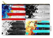 Max Stars And Stripes In Quad Colors Carry-all Pouch