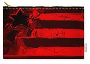 Max Stars And Stripes In Red Carry-all Pouch