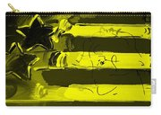 Max Stars And Stripes In Yellow Carry-all Pouch