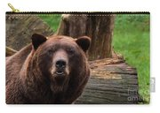 Max The Brown Bear Carry-all Pouch