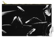 Max Two Stars In Black And White Carry-all Pouch