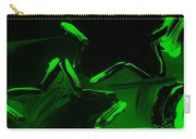 Max Two Stars In Green Carry-all Pouch