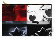 Max Two Stars In Quad Colors Carry-all Pouch