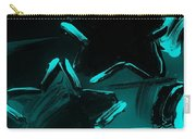 Max Two Stars In Turquois Carry-all Pouch