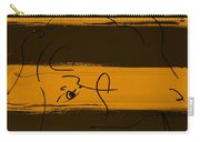 Max Woman In Orange Carry-all Pouch