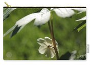 May Apple Flower Carry-all Pouch