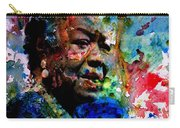Maya Angelou Paint Splash Carry-all Pouch
