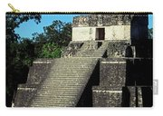 Mayan Ruins - Tikal Guatemala Carry-all Pouch by Juergen Weiss