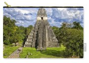 Mayan Temple At Tikal Carry-all Pouch