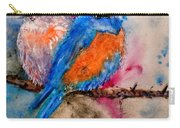 Maybe She's A Bluebird Cropped Carry-all Pouch