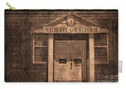 Mayberry Courthouse Carry-all Pouch