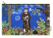 May's St. Francis Carry-all Pouch by Sue Betanzos
