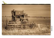 Mccormic Harvester In Sepia 5 Carry-all Pouch