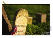 Mcgavock Confederate Cemetery Carry-all Pouch by Brian Jannsen