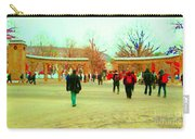 Mcgill Univ Students And Faculty College Campus Montreal Memories Collectible Art Prints C Spandau Carry-all Pouch