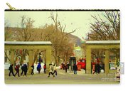 Mcgill University Roddick Gates Class Of 2013 Winter Semester Montreal Collectible Prints C Spandau Carry-all Pouch