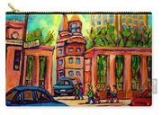 Mcgill University Roddick Gates Montreal Carry-all Pouch