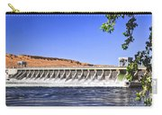 Mcnary  Hydroelectric Dam Carry-all Pouch by Robert Bales