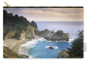 Mcway Cove Falls In Big Sur Carry-all Pouch