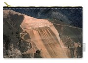 Aerial Of Mcway Landslide Big Sur California 1984 Carry-all Pouch