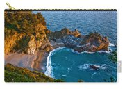 Mcway Waterfall. Big Sur Carry-all Pouch