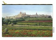 Mdina Poppies Malta Carry-all Pouch by Richard Harpum