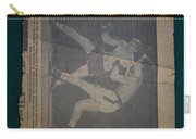 Me Fighting Bill Waits 1954 Carry-all Pouch