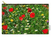 Meadow Flowers - Digital Oil Carry-all Pouch