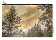 Meadow Sunset Gold Carry-all Pouch
