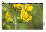 Meadow Vetchling Yellow Flower Carry-all Pouch