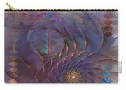 Meandering Acquiescence - Square Version Carry-all Pouch