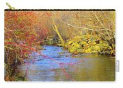 Meandering Stream  Carry-all Pouch