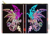 Mech Dragons Pastel Carry-all Pouch