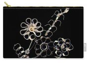 Mechanical Flowers Carry-all Pouch