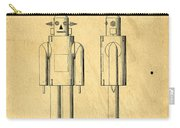 Mechanical Man Patent Carry-all Pouch