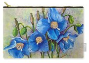 Meconopsis    Himalayan Blue Poppy Carry-all Pouch