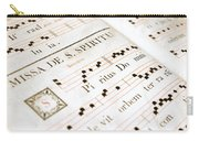Mediavel Chorus Book  Carry-all Pouch by Fabrizio Troiani