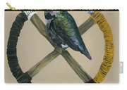 Medicine Wheel Carry-all Pouch by J W Baker