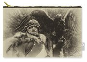 Medieval Barbarian Artur And Spirit 2 Carry-all Pouch