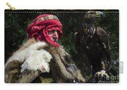 Medieval Barbarian Artur And Spirit Carry-all Pouch