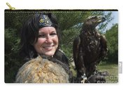 Medieval Barbarian Eriana Iceni And Spirit Carry-all Pouch