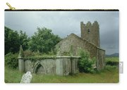 Medieval Church And Churchyard Carry-all Pouch
