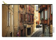 Medieval Street In Albi France Carry-all Pouch by Elena Elisseeva