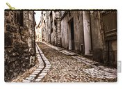 Medieval Street In France Carry-all Pouch