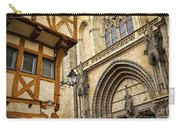 Medieval Vannes France Carry-all Pouch by Elena Elisseeva