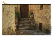 Medieval Village Street Carry-all Pouch by Lainie Wrightson